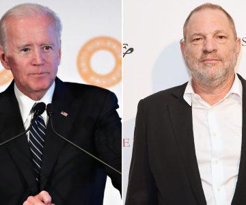 Joe Biden, Like Harvey Weinstein, Denies Sexual Assault Allegations